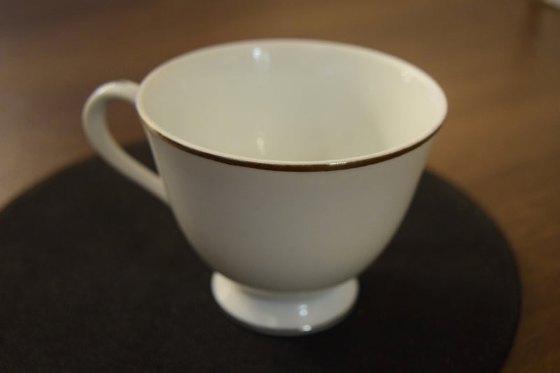 Footed Tea Cup By Not Known