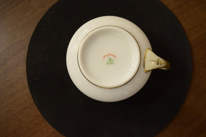 Non-Footed Tea Cup By Nippon