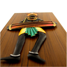 Load image into Gallery viewer, Tribal Man Playing Dholak, made in Wrought Iron and MDF, Bastar Art, color- multicolor