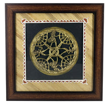 Load image into Gallery viewer, Brass Metal Wall Hanging, Bastar Art, Wall Decor