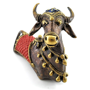 Colorful Nandi Statue