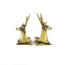 Load image into Gallery viewer, Indian Handicraft Brass Deer Pair
