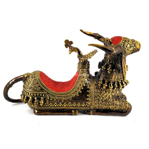 Nandi With Throne