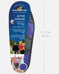 griffin shoe care active insoles shoe inserts