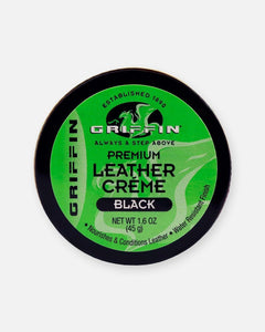 griffin shoe care black leather creme shoe polish