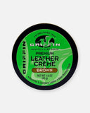 griffin shoe care brown leather creme shoe polish