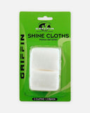 griffin shoe care shine cloth for polish