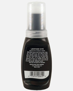 griffin shoe care leather dye polish black brown