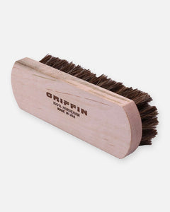 griffin shoe care horsehair shoe brush