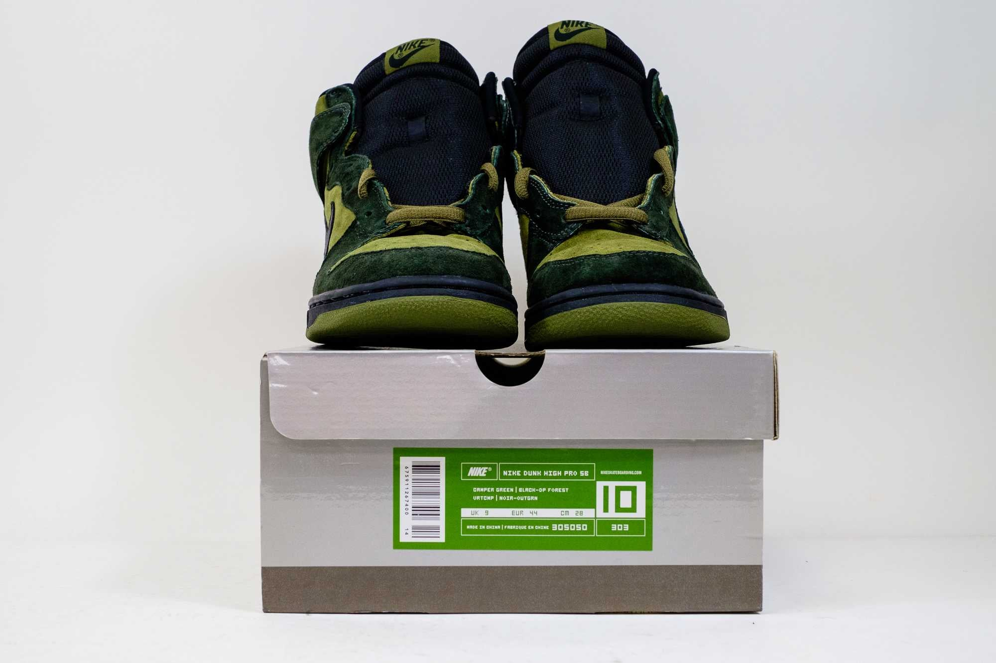 new concept d78ab f66d5 ... Load image into Gallery viewer, 10 US - DS Nike Dunk High SB Todd Camper
