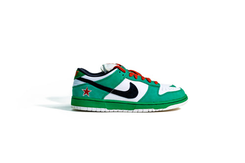 10 US - DS Nike Dunk Low SB Heineken Green White 2003