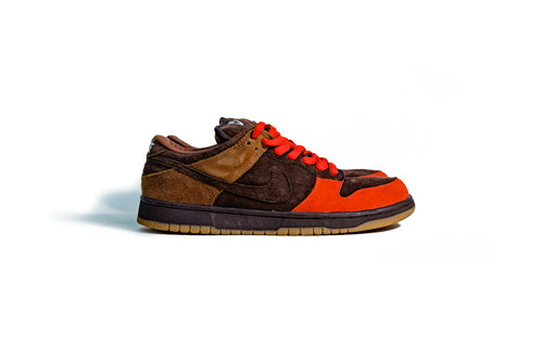 11 US - Nike Dunk Low SB Bison Low Red 2003