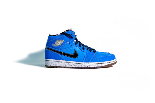 9.5 US - DS Nike Air Jordan 1 Quai 54 Ruff and Tuff 2009