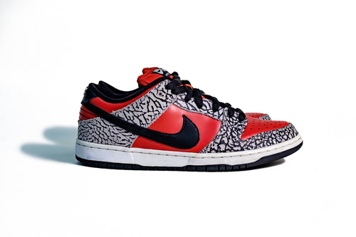10 US - Nike Dunk Supreme SB Red Cement 2012