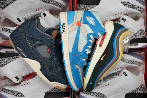 $11 Subscription - DS Nike Air Max 1/97 Sean UNC Off White Levis