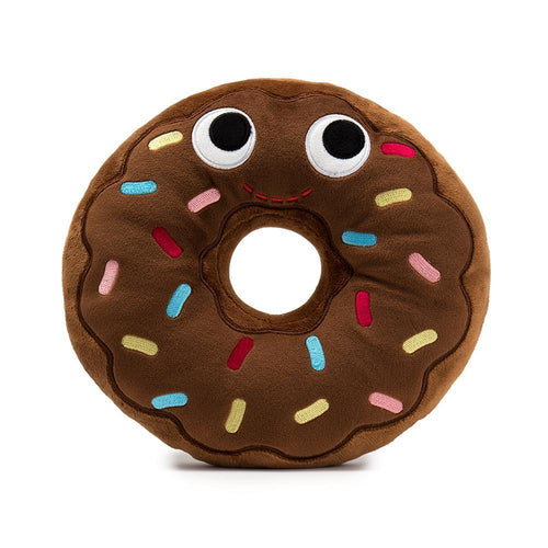 Kidrobot Yummy World Ben Chocolate Donut 10inches Plush