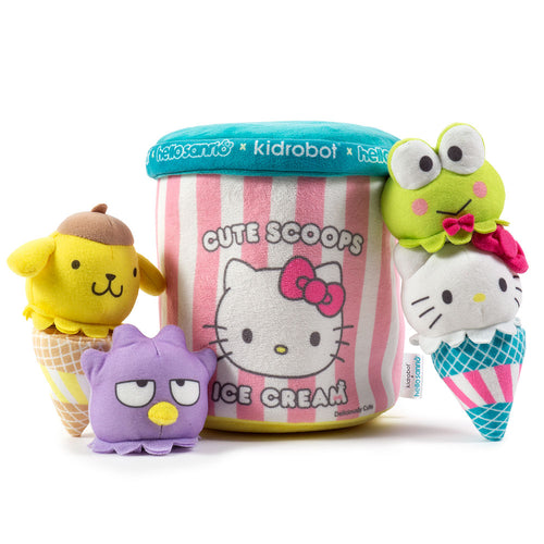 Kidrobot x Sanrio Ice Cream Cute Scoops Medium Plush