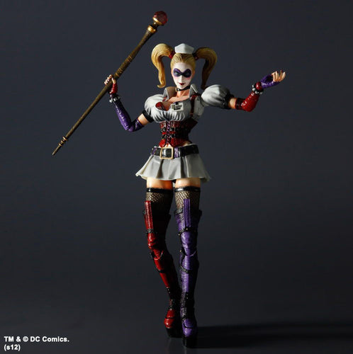 Square Enix Play Arts Kai Batman Arkham Asylum Series Harley Quinn Figure