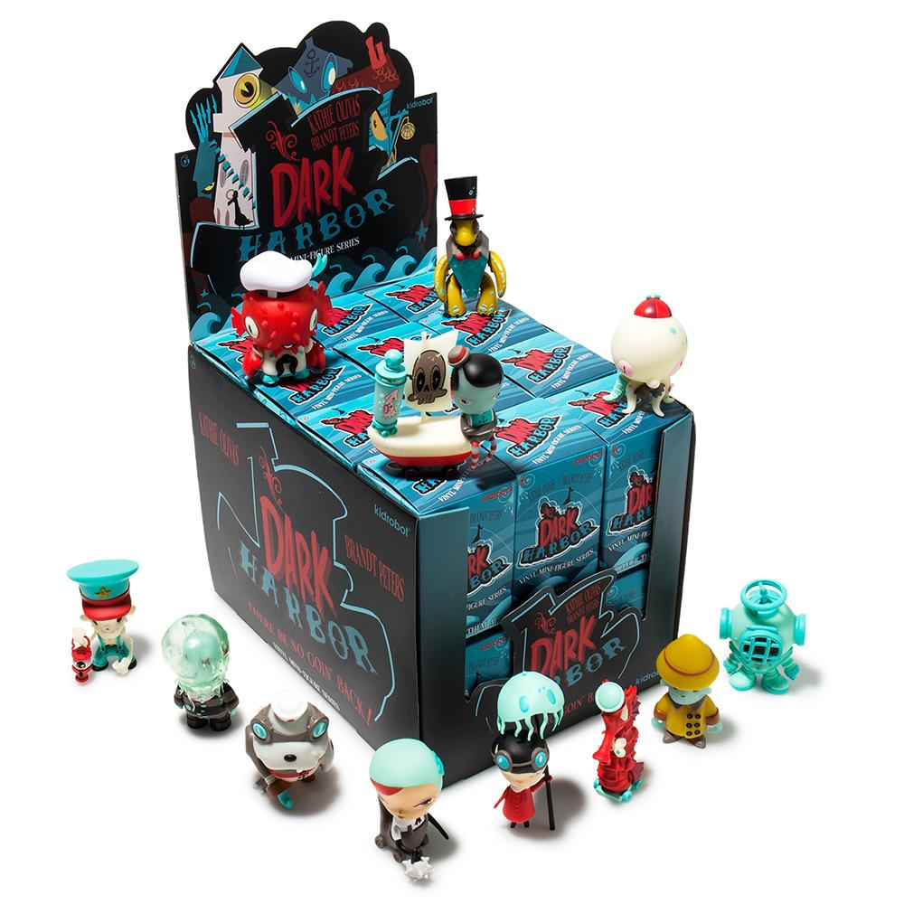 Kidrobot Kathie Olivas & Brandt Peters Dark Harbor Mini Figure Case