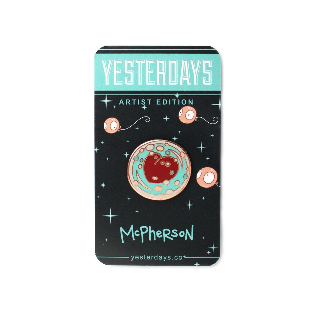 Yesterdays Tara McPherson Drifted Enamel Pin