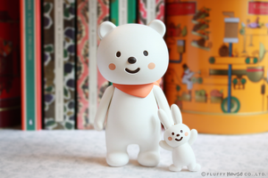 Fluffy House Ordinary Bear 2.0 Vinyl Figure