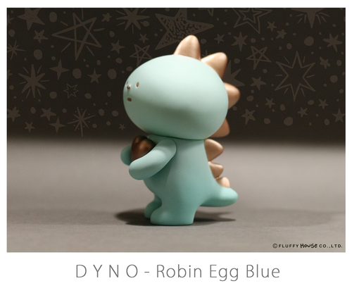 Fluffy House DYNO Robin Egg Blue Vinyl Figure