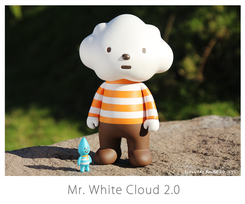 Fluffy House Mr White Cloud 2.0 Vinyl Figure