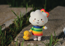 Load image into Gallery viewer, Fluffy House Miss Rainbow & Chicky 3.0 Vinyl Figure