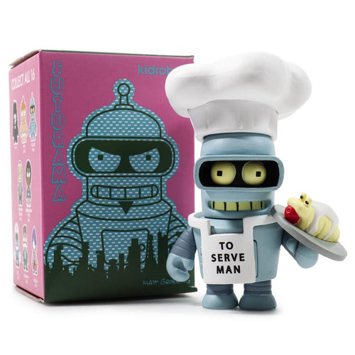 Kidrobot Futurama Good News Everyone 3inch Mini Figures Blind Box