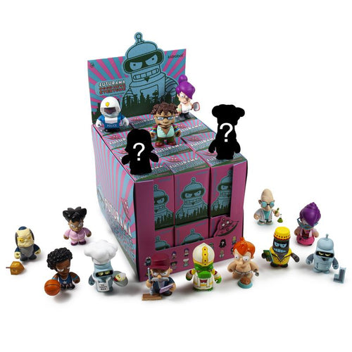 Kidrobot Futurama Good News Everyone 3inch Mini Figures Sealed Case