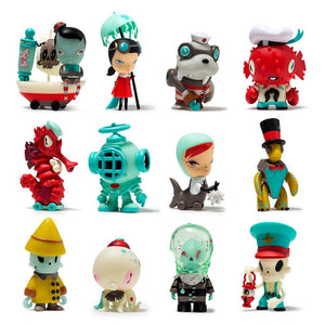 Kidrobot Kathie Olivas & Brandt Peters Dark Harbor Mini Figure Blind Box
