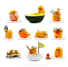 Load image into Gallery viewer, Kidrobot Gudetama Eggstra Lazy Vinyl Mini Figure Series Case