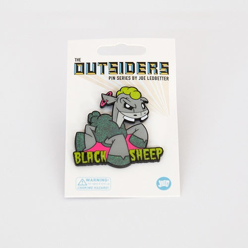 Joe Ledbetter The Outsiders Black Sheep Enamel Pin