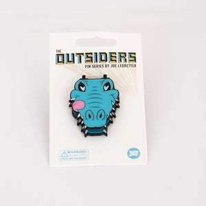 Joe Ledbetter The Outsiders Gator Enamel Pin