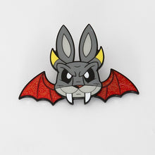 Load image into Gallery viewer, Joe Ledbetter Chaos Bunny Collection Demon Bunny Enamel Pin