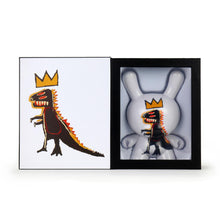 Load image into Gallery viewer, Kidrobot Jean-Michel Basquiat Masterpiece Pez Dispenser 8inch Dunny