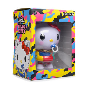Kidrobot Hello Kitty 8inch Art Figure by Quiccs 80's Retro Edition