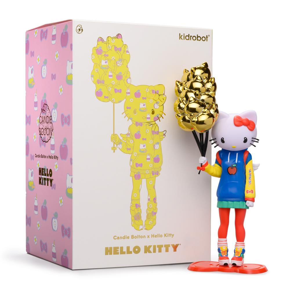 Kidrobot x Sanrio Hello Kitty 9inch Art Figure by Candie Bolton Nostalgic Edition