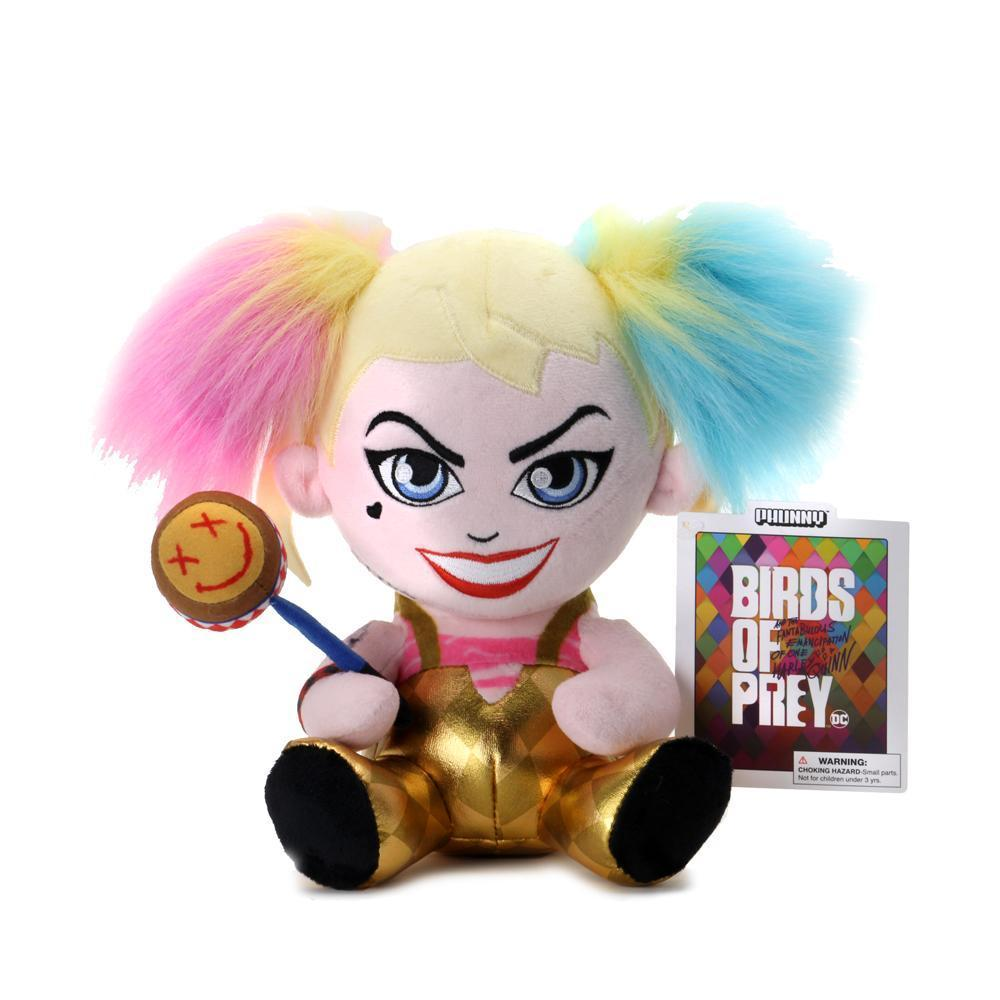 Kidrobot Phunny DC Comics Birds of Prey Harley Quinn Plush