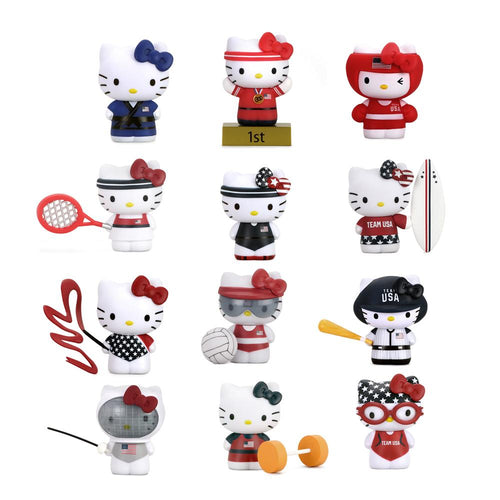 Kidrobot Hello Kitty x Team USA Mini Figures