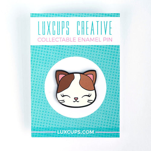 Luxcups Creative Kitty Enamel Pin