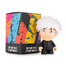 Load image into Gallery viewer, Kidrobot Many Faces of Andy Warhol Mini Figure Series Blind Box