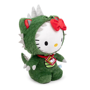 Kidrobot Sanrio Hello Kitty Kaiju Dinosaur Cosplay Plush