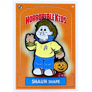 Horrible Kids Shaun Shape Enamel Pin