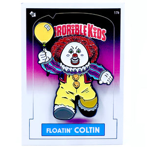 Horrible Kids Floatin Coltin Enamel Pin