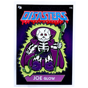 Disasters of the Universe Joe Glow Enamel Pin