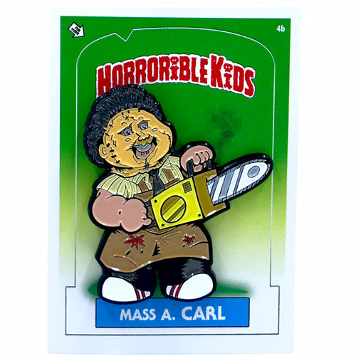 Horrible Kids Mass A Carl Enamel Pin