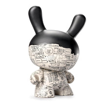 Load image into Gallery viewer, Kidrobot Jean-Michel Basquiat Masterpiece Pegasus 8inch Dunny Vinyl Figure