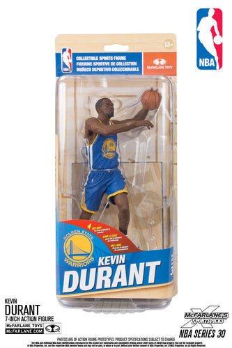 McFarlane NBA Series 30 Kevin Durant Blue Jersey Figure