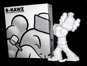 Necessaries Toy Foundation B-KAWZ White Edition Vinyl Figure